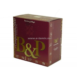 B&P Pellagri 24 Gr. Trap Fişeği