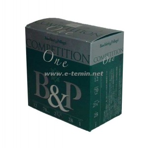 B&P Pellagri Competition One 12Cal. 28Gr. Fişek