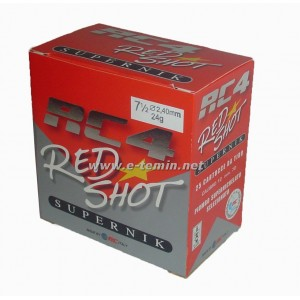 Rc4 Red Shot Trap Fişeği