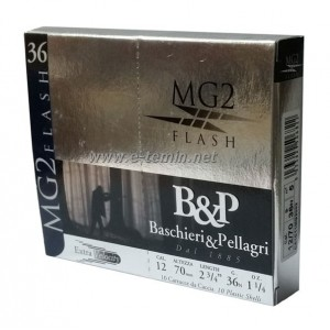 B&P Pellagri MG2 Flash 12Cal. 36 Gr. Av Fişeği